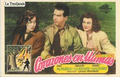 Corazones en Llamas - Programa de Cine - Fred MacMurray - Paulette Goddard