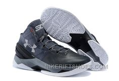 171935746a8 Under Armour Curry Two Custom Grey Black Sneaker Discount MEAsi
