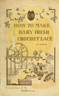 How to make baby Irish crochet lace.