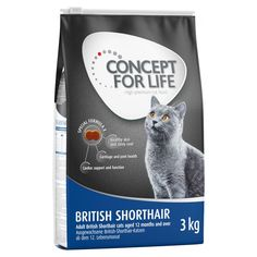Animalerie  Concept for Life British Shorthair Adult pour chat  9 kg