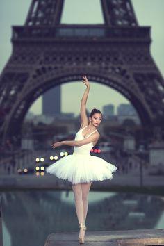 Photograph Eiffel Ballerina by Stephane Pironon on 500px