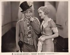 "Harpo Marx..""Monkey Business"""