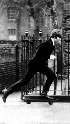 John Lennon… skateboarder