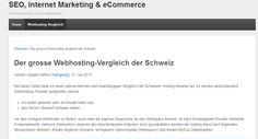 http://www.marchionni.ch/webhosting/ - vergleich Was ist das beste Webhosting Angebot der Schweiz? Hier gehts zum Vergleich! https://www.facebook.com/bestfiver/posts/1428299364049701