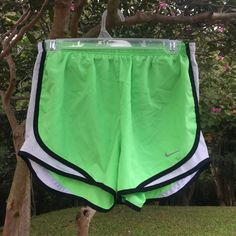 Nike Dri-Fit Shorts Nike Dri-Fit Shorts in neon lime. Size S. Great condition! No stains, rips, or tears. No trades please but all offers welcome! Nike Shorts