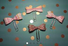 Medium Paperclip Planner Bows