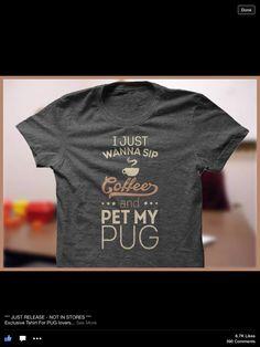Perfect pug shirt
