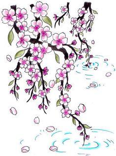 cherry blossom tattoo designs   Tattoo Designs, Japanese Tattoos, Cherry Blossom Tattoo,
