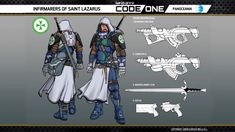 Infinity Panoceania Infirmarers of St Lazarus Infinity Art, Infinity The Game, Corvus Belli Infinity, Saint Lazarus, Sci Fi Characters, Bioshock, Amazing Art, Creatures, Cool Stuff