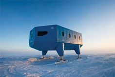 Halley VI Antartic Research Station - Hugh Broughton Architects