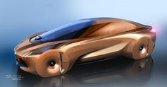 Concept Vehicle for BMW Centenary_Responsible for Exterior Design / Exterior Detail DesignBMW VISION NEXT 100: A vehicle for future…