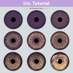 One of my Patrons asked for the Iris tutorial so here it is! OwO I always enjoy drawing eyes! * You can also find a high resolution, psd… Digital Painting Tutorials, Digital Art Tutorial, Art Tutorials, 3d Artwork, Fantasy Artwork, Photo Oeil, Art Sketches, Art Drawings, Drawing Faces