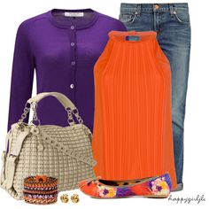 """""""Floral Flats"""" by happygirljlc on Polyvore"""