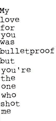 quote quotes lyrics pierce the veil bulletproof love lyric Band Quotes, Lyric Quotes, Me Quotes, Qoutes, The Words, Great Quotes, Quotes To Live By, Inspirational Quotes, Tatto Love