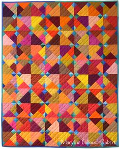 Blue Ducks , 80/100cm, ©Maryline Collioud-Robert      Today is a great day!    I've just published my first quilt pattern, Blue Duc...