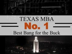McCombs is the best worth top Business School. Alongside world-renowned faculty, broad resources, close-knit community, and the dynamic city of Austin, McCombs Business School will provide me best return on my investment.