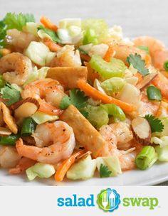 Shrimp Pad Thai Salad