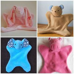 Amazing Home Sewing Crafts Ideas. Incredible Home Sewing Crafts Ideas. Sewing Toys, Baby Sewing, Sewing Crafts, Sewing Projects For Kids, Sewing For Kids, Baby Patterns, Sewing Patterns, Couture Bb, Easy Baby Blanket
