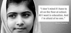 We celebrate the #dayofthegirl with this amazing reflexion about #education. #sunchat