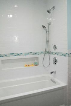 Kohler Archer Tub Design Ideas, Pictures, Remodel, and Decor - page 3 I like the built in spot for bath supplies