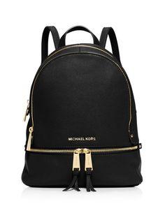 MICHAEL Michael Kors Small Rhea Zip Backpack   Bloomingdale's