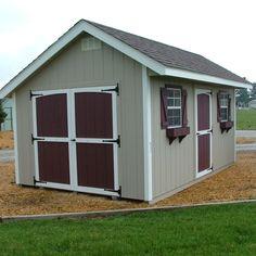 English Cottage Storage Shed