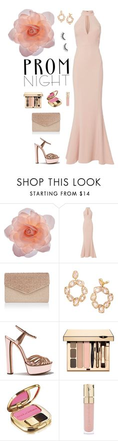 """The Perfect Prom Night"" by fashionkookoo ❤ liked on Polyvore featuring Accessorize, Exclusive for Intermix, Monsoon, Tory Burch, Dolce&Gabbana, Smith & Cult, tarte and PROMNIGHT"