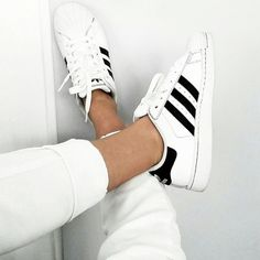 Adidas Originals Superstar Pride Pack Where can I buy these shoes that ship to the UK? Style Blog, Mode Style, Adidas Superstar, Adidas Originals, Outfit Trends, Summer Trends, Shoe Game, Summer Shoes, Adidas Women