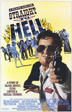 Straight to Hell 11x17 Movie Poster (1987)