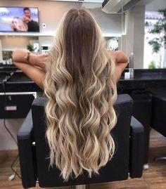 Projeto Along Hair – Recupere em 30 dias Blonde Hair Looks, Brown Blonde Hair, Light Brown Hair, Blonde Brunette, Hair Color Balayage, Ombre Hair, Jace, Hair Extensions Best, Gorgeous Hair