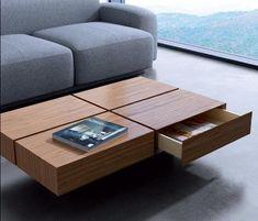 Mesa en madera con cajones incorporados ¡Todo en orden!