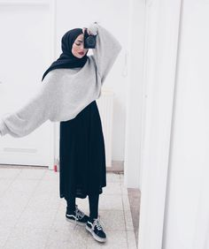 @sauf.etc on Instagram- Hijab Style Inspiration Casual