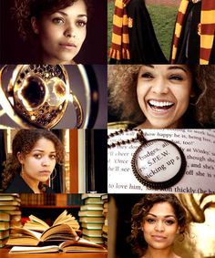 A different take on Hermione. She's cute. I like it!