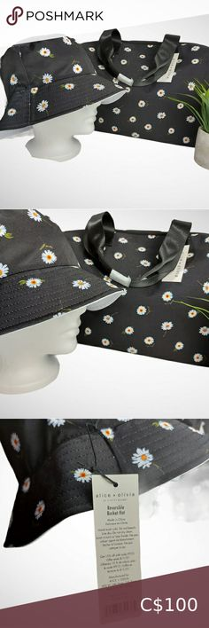 Check out this listing I just found on Poshmark: Alice + Olivia NWT Daisy Bucket Hat & Duffle Bag. #shopmycloset #poshmark #shopping #style #pinitforlater #Alice + Olivia #Handbags