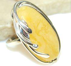 Butterscotch Polish Amber Ring