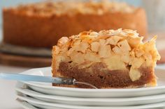 Apple-spiced cake from Caroline - Culy. Dutch Recipes, Apple Recipes, Sweet Recipes, Baking Recipes, Cake Recipes, Sweet Pie, Sweet Tarts, Baking Bad, Pie Cake