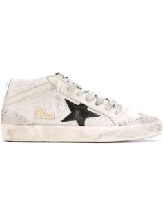 Shop Golden Goose Deluxe Brand 'Mid Star' sneakers in Space Prague from the…