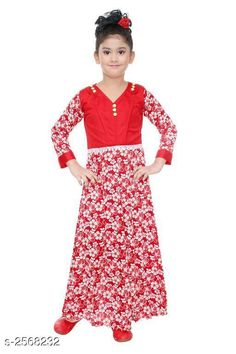 Checkout this latest Frocks & Dresses Product Name: *Fabulous Kid's Girls Dress* Sizes: 1-2 Years, 3-4 Years Easy Returns Available In Case Of Any Issue   Catalog Rating: ★3.9 (1008)  Catalog Name: Cutepie Fabulous Kid's Girls Dresses Vol 10 CatalogID_346494 C62-SC1141 Code: 742-2568232-477