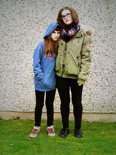 This is a photo of my two daughters Emanuela and Michaela