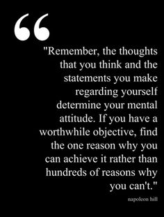 napoleon hill on thoughts Pinstamatic