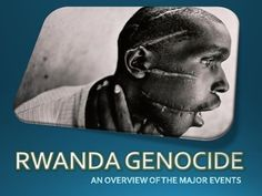 This 27 slide PowerPoint presentation details the major events, people and themes of the Rwanda Genocide in 1994. This is an excellent resource for teaching students about the significance and events of the Rwanda Genocide.
