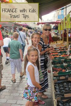 """The first thing families usually ask us when considering a trip to France is """"Is France child-friendly?"""" It is! Our tips for a family vacation in France ..."""