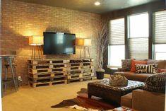 moderne Wohnung-Bücherregal-selber bauen