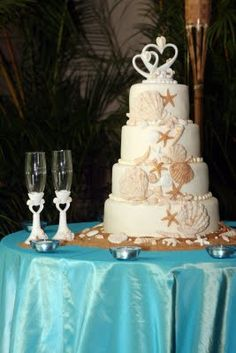Ingrid Rhodes Styled Events: Beach Theme Wedding Reception.......