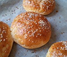 Betti gluténmentes konyhája: Hamburger zsömle