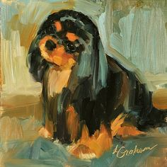"""""""No Sweeter Face"""" canvas giclee print by Lindsey Bittner Graham giclee on canvas ~ 4.25"""" x 4.25"""""""