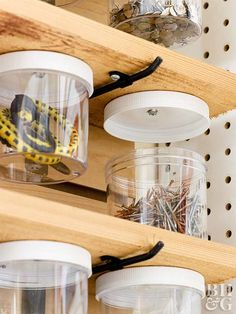 Utilize every spare inch of your garage with these clever and creative storage solutions.