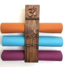 Updates from YogaWares on Etsy Meditation Room Decor, Yoga Decor, Yoga Studio Home, Free House Plans, Les Chakras, Zen, Wood Wall Art, Wood Projects, Etsy