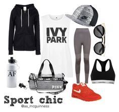 Sporty spice by aislingmcguinness on Polyvore featuring polyvore, fashion, style, Topshop, Under Armour, adidas, Calvin Klein, NIKE, Boohoo and clothing