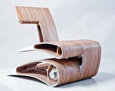 Dit is DE trots van het HMC en eerlijk is eerlijk... het is super mooi en een heel apart ontwerp! Floor Chair, Industrial Design, Heeled Mules, Design Inspiration, Daily Inspiration, Furniture, Shoes, Home Decor, Google